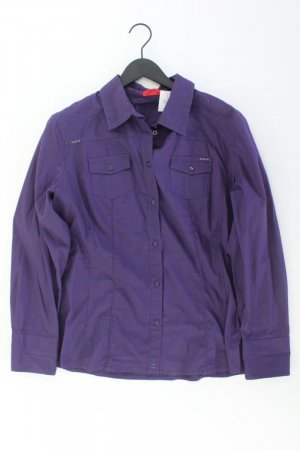 Zagora Long Sleeve Blouse lilac-mauve-purple-dark violet cotton