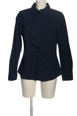 Zagora Langarmhemd blau Business-Look