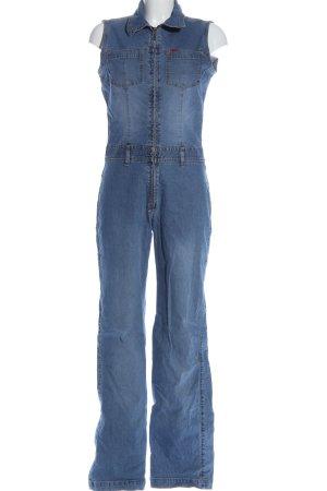 Zagora Langer Jumpsuit blu stile casual