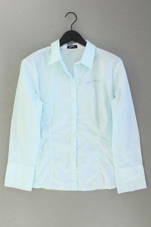 Zagora Oversized blouse blauw-neon blauw-donkerblauw-azuur Katoen