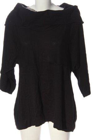 Zagora Turtleneck Sweater black casual look