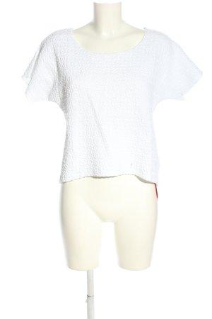 ZAIDA Oversized Shirt weiß Casual-Look