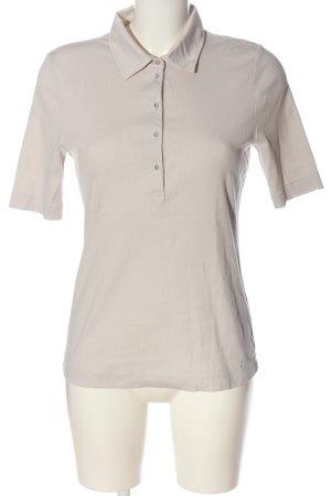 ZAIDA Polo Shirt natural white casual look