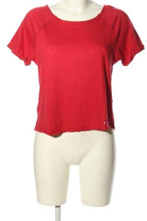 ZAIDA T-Shirt rot Casual-Look