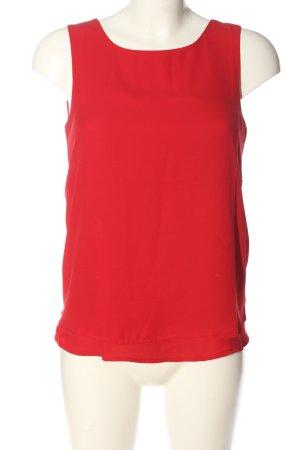 Zalando Sleeveless Blouse red casual look