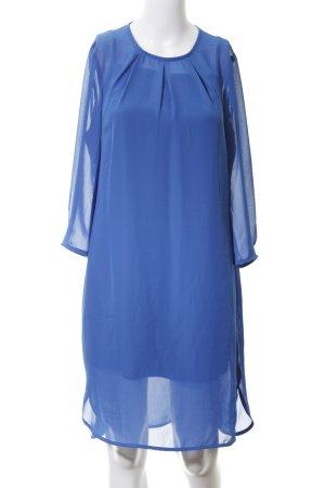 Zalando Blusenkleid blau Casual-Look