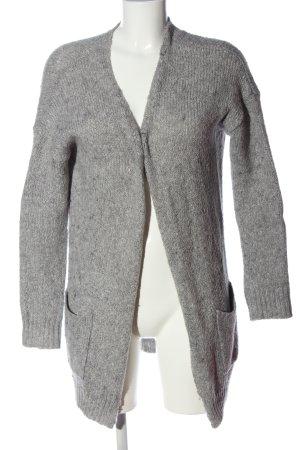 Zalando Cardigan light grey flecked casual look