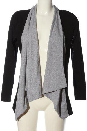Zalando Cardigan nero-grigio chiaro stile casual