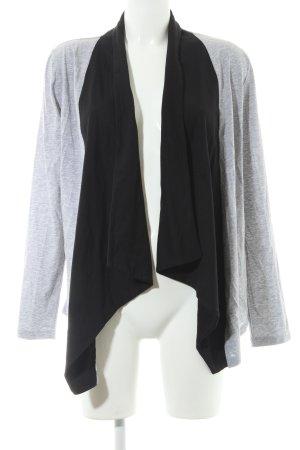 Zalando Cardigan grau-schwarz Casual-Look