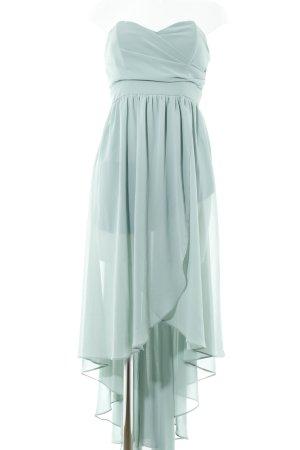 Zalando Chiffon Dress sage green elegant