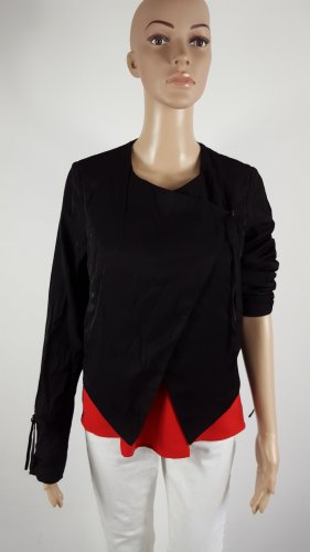 Zalando Collection Blouse Jacket black viscose