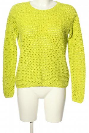 Zalando Collection Coarse Knitted Sweater primrose casual look