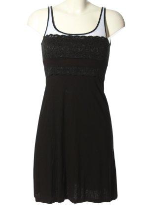 Zalando Collection Jerseykleid schwarz-weiß Casual-Look