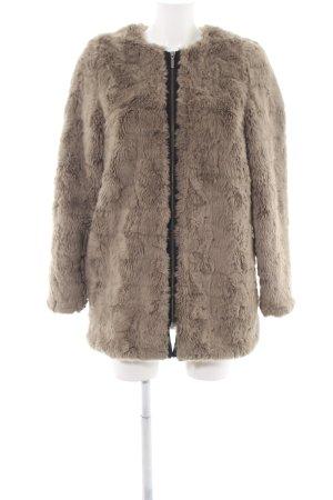 Zalando Collection Giacca in eco pelliccia crema elegante