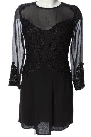 Zalando Collection Langarmkleid schwarz Elegant