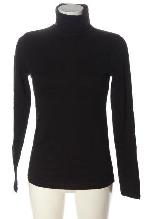 Zalando Essentials Turtleneck Shirt black casual look