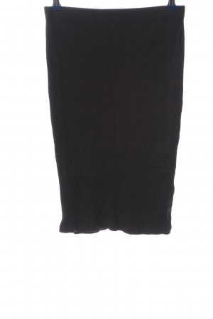 Zalando Essentials Knitted Skirt black business style