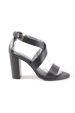 Zalando Iconics Riemchen-Sandaletten schwarz Business-Look