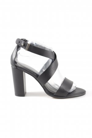 Zalando Iconics Strapped High-Heeled Sandals black business style