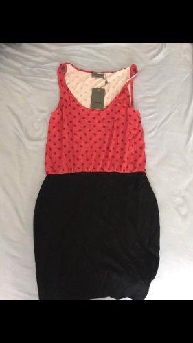 Zalando Summer Dress black-magenta
