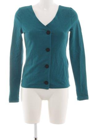 Zalando Short Blazer turquoise casual look