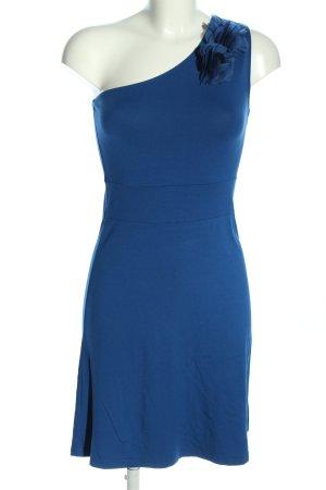 Zalando Vestido de un hombro azul elegante