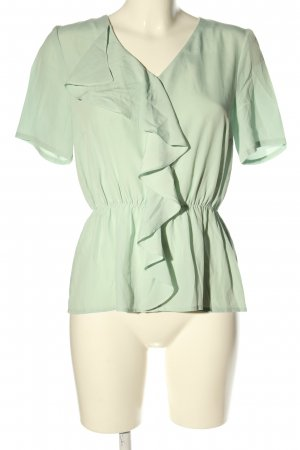 Zalando Ruffled Blouse khaki casual look