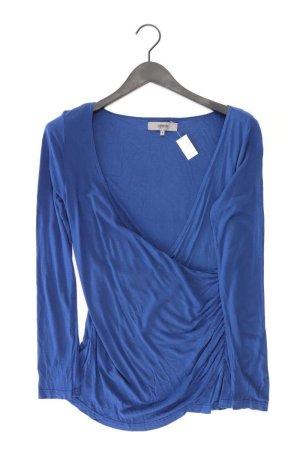 Zalando V-Neck Shirt blue-neon blue-dark blue-azure viscose