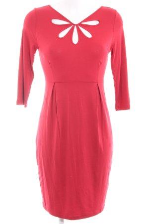Zalando Stretch Dress brick red casual look