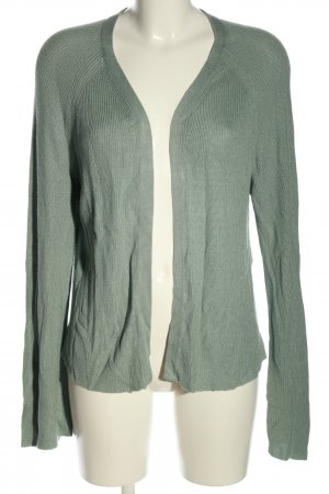 Zalando Knitted Cardigan green grey casual look
