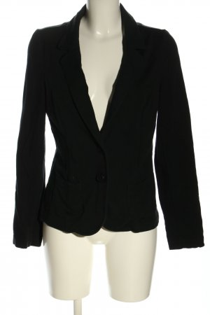 Zalando Sweatblazer zwart zakelijke stijl