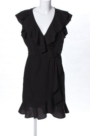 Zalando Vestido estilo flounce negro look casual
