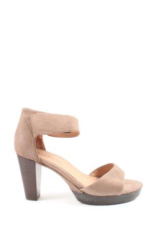 Zanon & Zago High Heels creme Casual-Look