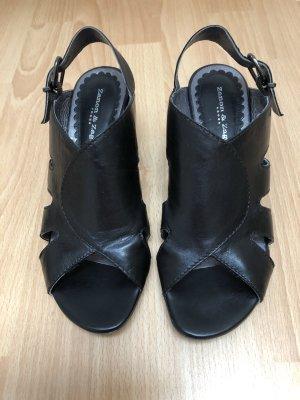 Zanon & Zago Sandalo comodo nero Pelle