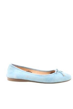 Zanon & Zago Klassische Ballerinas blau Casual-Look