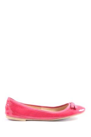 Zanon & Zago Lackballerinas pink Casual-Look