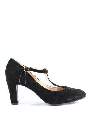 Zanon & Zago Zapatos Mary Jane negro look casual