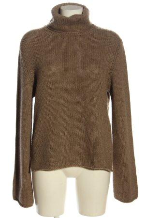 Zanone Pullover in cashmere marrone stile casual