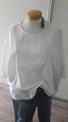 Zanzea Bluzka oversize biały Bawełna