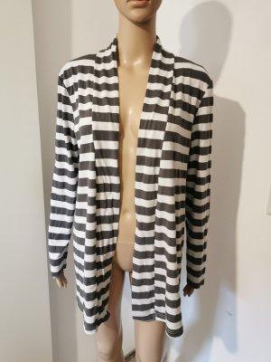 Zanzea Collection Damen Sweatjacke Cardigan offen gestreift Größe XL