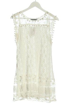 Zanzea Minikleid weiß Elegant