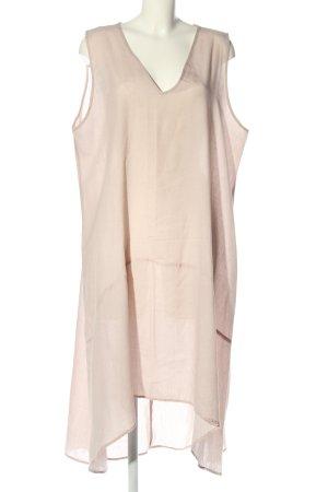 Zanzea Vokuhila-Kleid pink Casual-Look