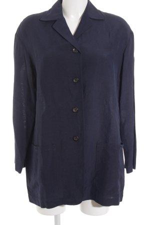 Zapa Long-Blazer dunkelblau klassischer Stil
