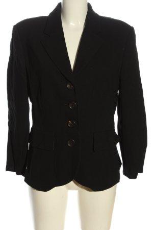 Zapa Blazer tejido negro estilo «business»