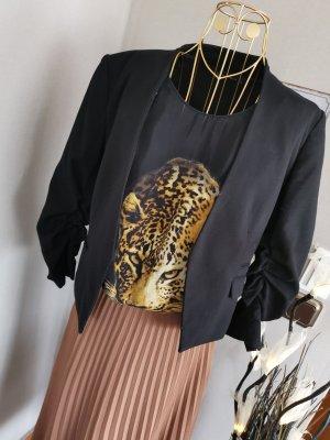 Zara 100 % Seidentop Leopard Gr. M