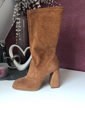 Zara Botte courte brun