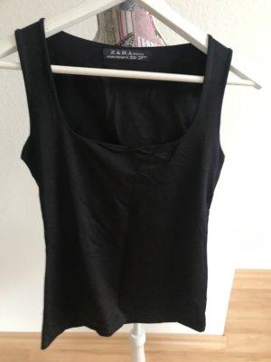 Zara 2 Tops schwarz / lila