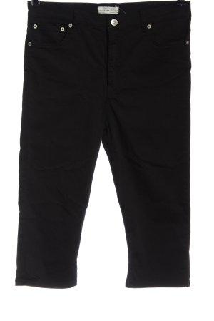 Zara 3/4-Hose schwarz Casual-Look