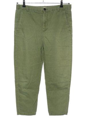 Zara 3/4-Hose khaki Casual-Look