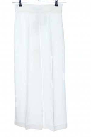 Zara 3/4 Length Trousers white business style